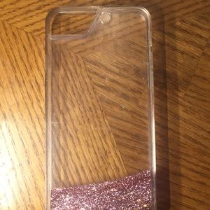 Other - iPhone 6 glitter fall case